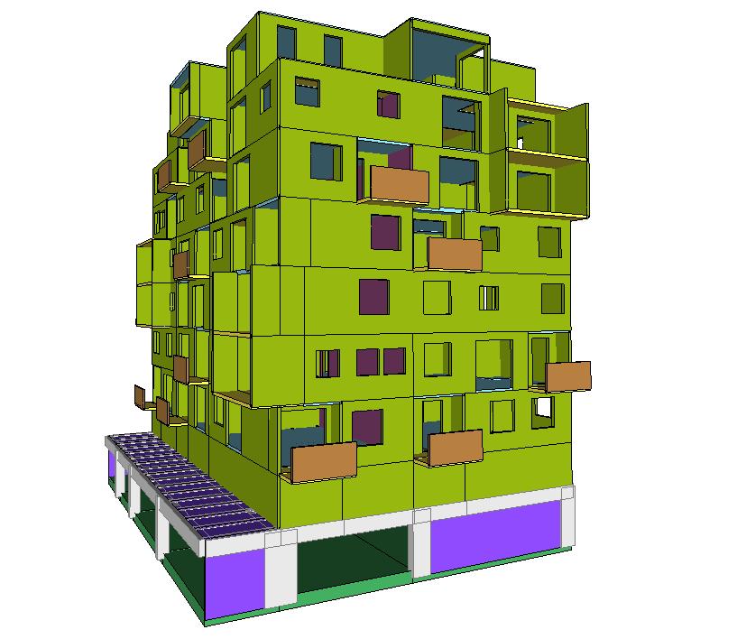 Sosnowiec / Optymalizacja zbrojenia budynku mieszkalnego