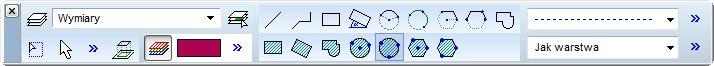 Edycja podkładów DXF/PDF z poziomu AxisVM