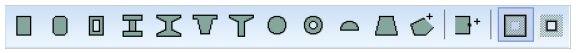 Nowe parametrycznie definiowane przekroje poprzeczne