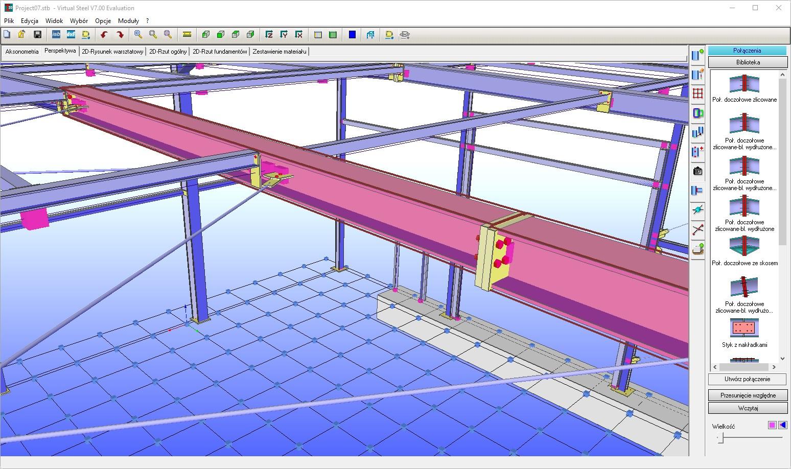 Modelowanie w Virtual Steel