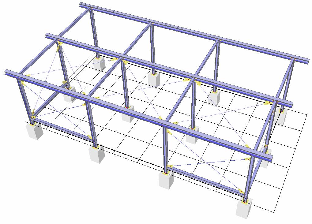 Hamburg / Konstrukcja pod garaż samochodowy